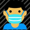 coronavirus, covid, infection, mask, medicine, people, virus