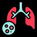 covid-19, infection, inspect, lung, virus, corona, coronavirus icon