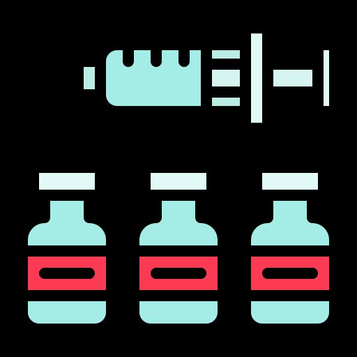 Drug, medicine, syringe, vaccine, virus icon - Free download