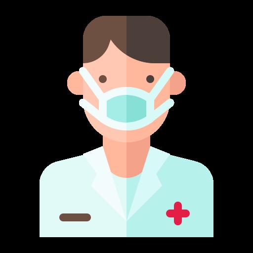 Avatar, doctor, man, virus icon - Free download