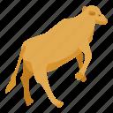 cartoon, cow, dog, farm, isometric, logo, silhouette