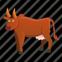 baby, brown, bull, hand, retro