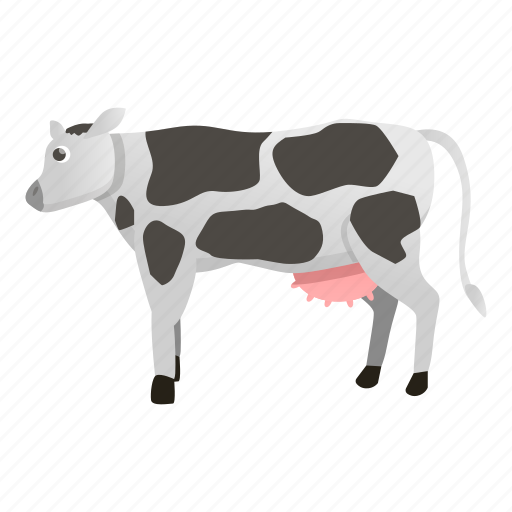Cow, face, food, nature, white icon - Download on Iconfinder