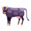 baby, cow, fashion, violet