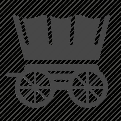 bogie, caravan, cart, cowboy, evacuate, trolley, wagon icon