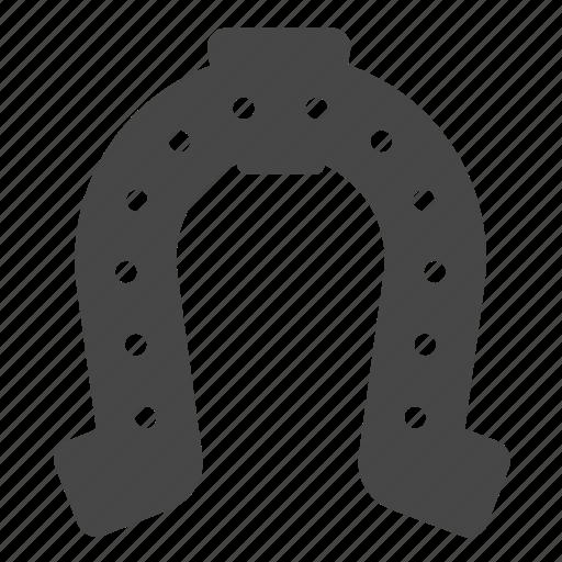 cowboy, equipment, hoof, horseshoe, luck, metal, steel icon