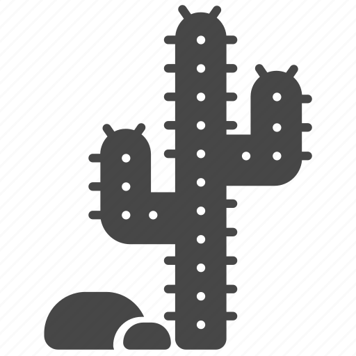 cactus, desert, mexican, texas, thorny, western, wild wild west icon
