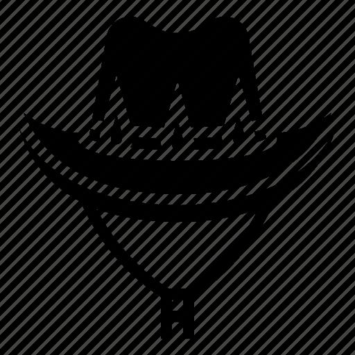cowboy, hat, west, wild icon