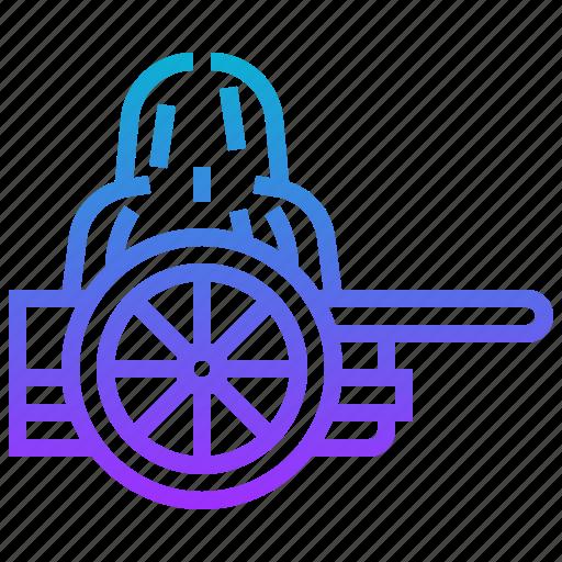 cart, west, wheel, wild icon