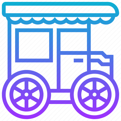 car, carriage, horse, transport, transportation icon