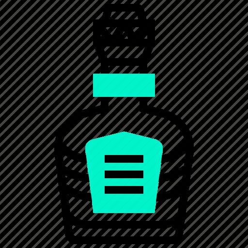 Alcohol, beverage, bottle, drink, water icon - Download on Iconfinder
