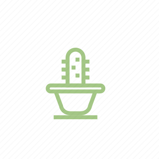 barbed, cactus, flower, houseplant, plant, scratchy icon