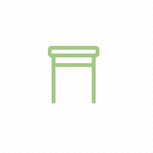 Chair, furniture, stool, table icon - Download on Iconfinder