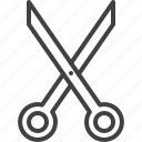 craft, cut, scissors, shears icon