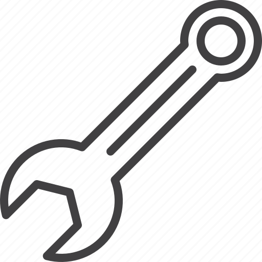 key, options, spanner, tool, wrench icon