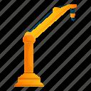 arm, car, crane, hand, technology