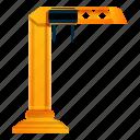 business, crane, frame, port, tower