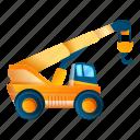 baby, business, car, child, crane, vehicle