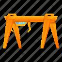big, business, crane, frame, industrial