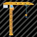 business, construction, crane, frame, load