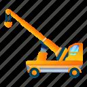 business, car, crane, lift, technology