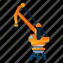 business, construction, crane, industrial, technology
