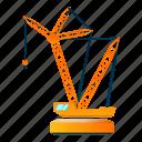 business, construction, crane, load, technology, truck