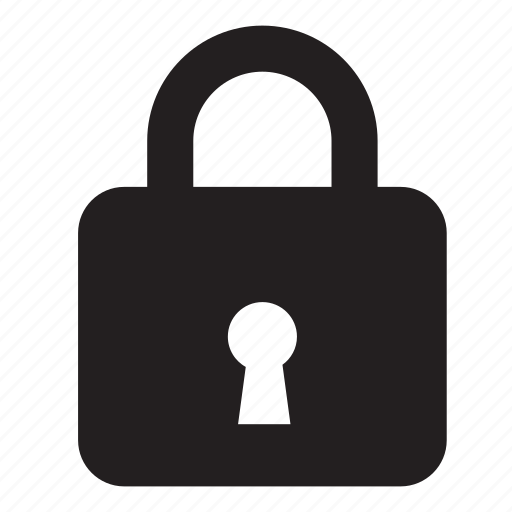 certificate, close, grid, lock, project, secure, security icon