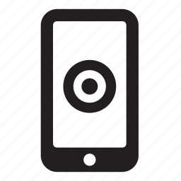 grid, marketing, mobile, objective, phone, project, target icon