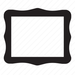 art, frame, grid, mark, picture, project icon