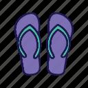 flip, flops, footwear, flipflop, beach wear, shoes