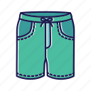trunks, shorts, swimwear, swimsuit, clothing, summer clothes, mean cloathes
