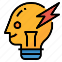 create, creative, generate, idea icon
