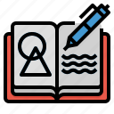 art, sketchbook, artist, design, notebook