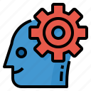 create, idea, think, thinking icon
