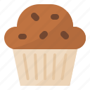 bakery, cupcake, dessert, muffin icon