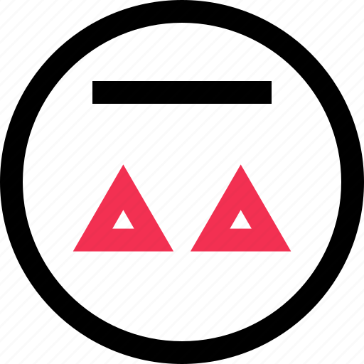 abstract, design, triangles icon
