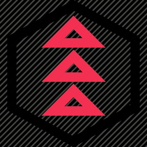 arrows, go, up icon