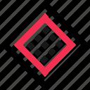 cube, dots, eye icon