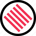 lines, many, scratch icon