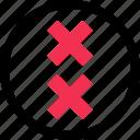 cross, crosses, x icon