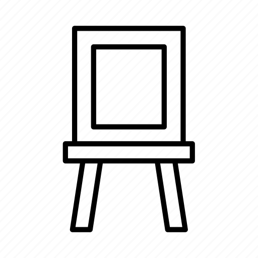 Art, artist, creative, creativity, design, easel, painting icon - Download on Iconfinder