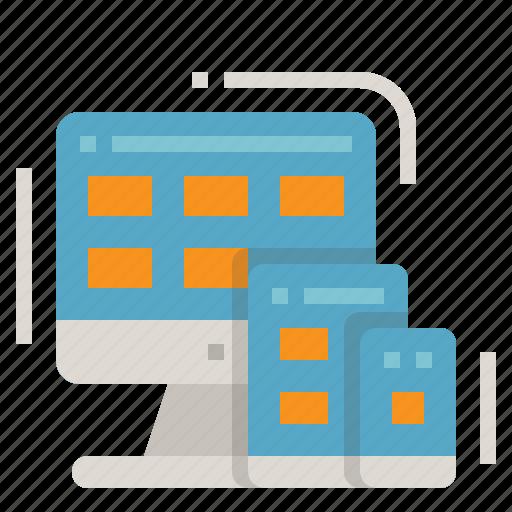 Computer, design, development, responsive, website icon - Download on Iconfinder