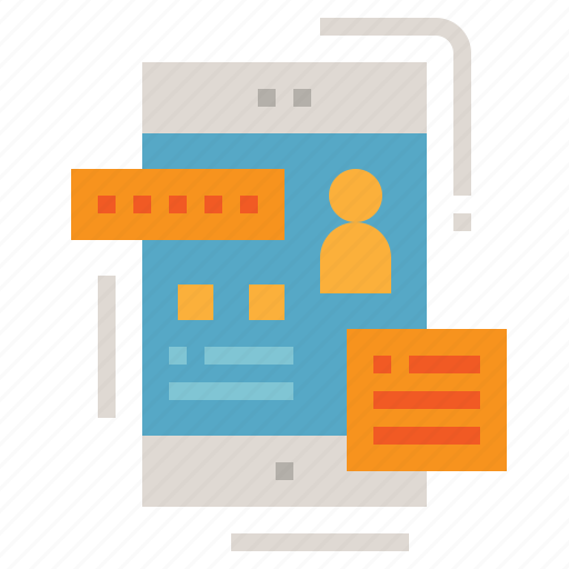 Application, design, phone, ui, ux icon - Download on Iconfinder