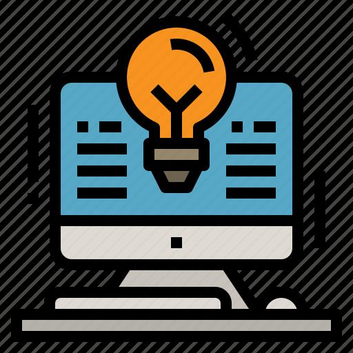 Computer, creative, design, desk, idea icon - Download on Iconfinder