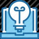 art, computer, creative, idea, thinking icon