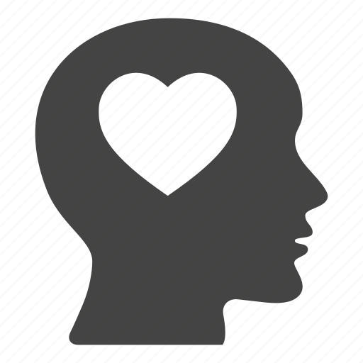 head, heart, like, love, loving, romantic icon