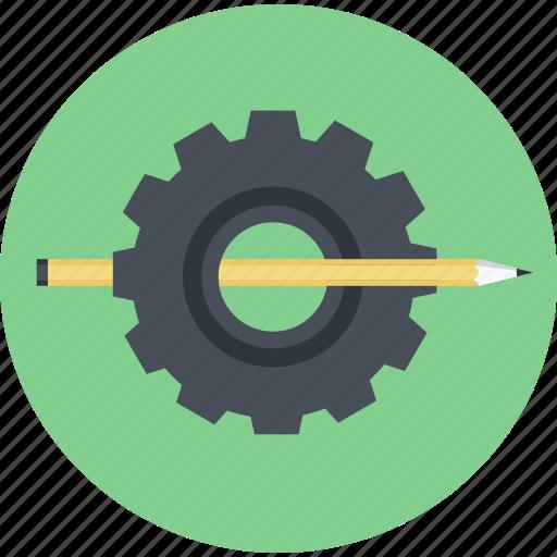 design, develop, flat design, graphic, round, solutions icon