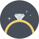 excellence, jewelry, premium, quality, ring, round icon