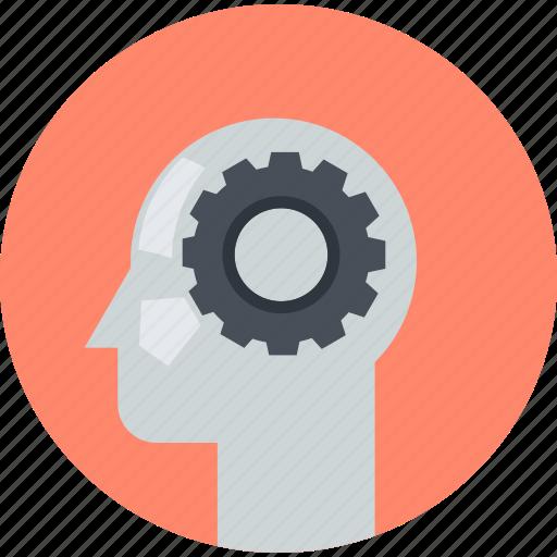 flat design, organization, people, planning, project, round, thinking icon